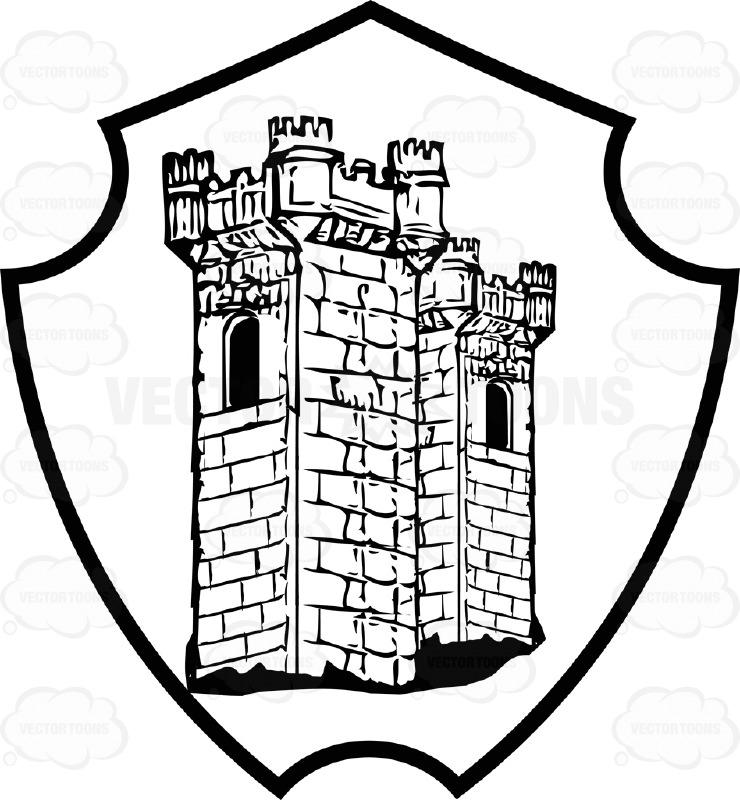 Castle clipart medieval army Clipart Coat And Castle Plaque