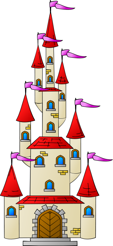 Palace clipart animated #2