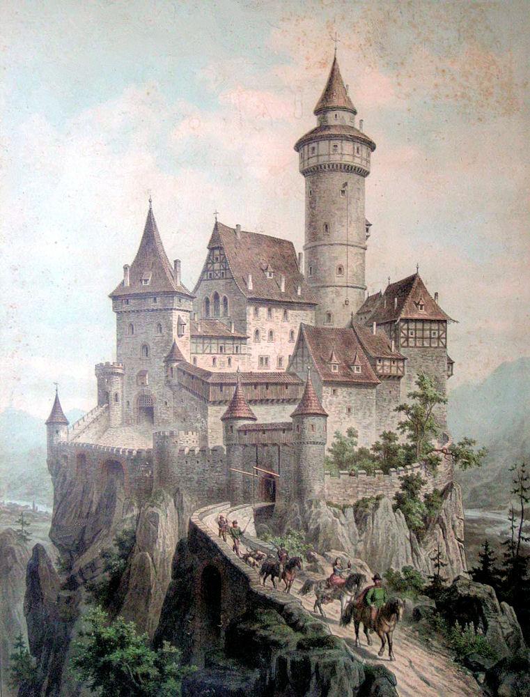 Empire clipart castle turret Vintage Clip Vintage Clip Art