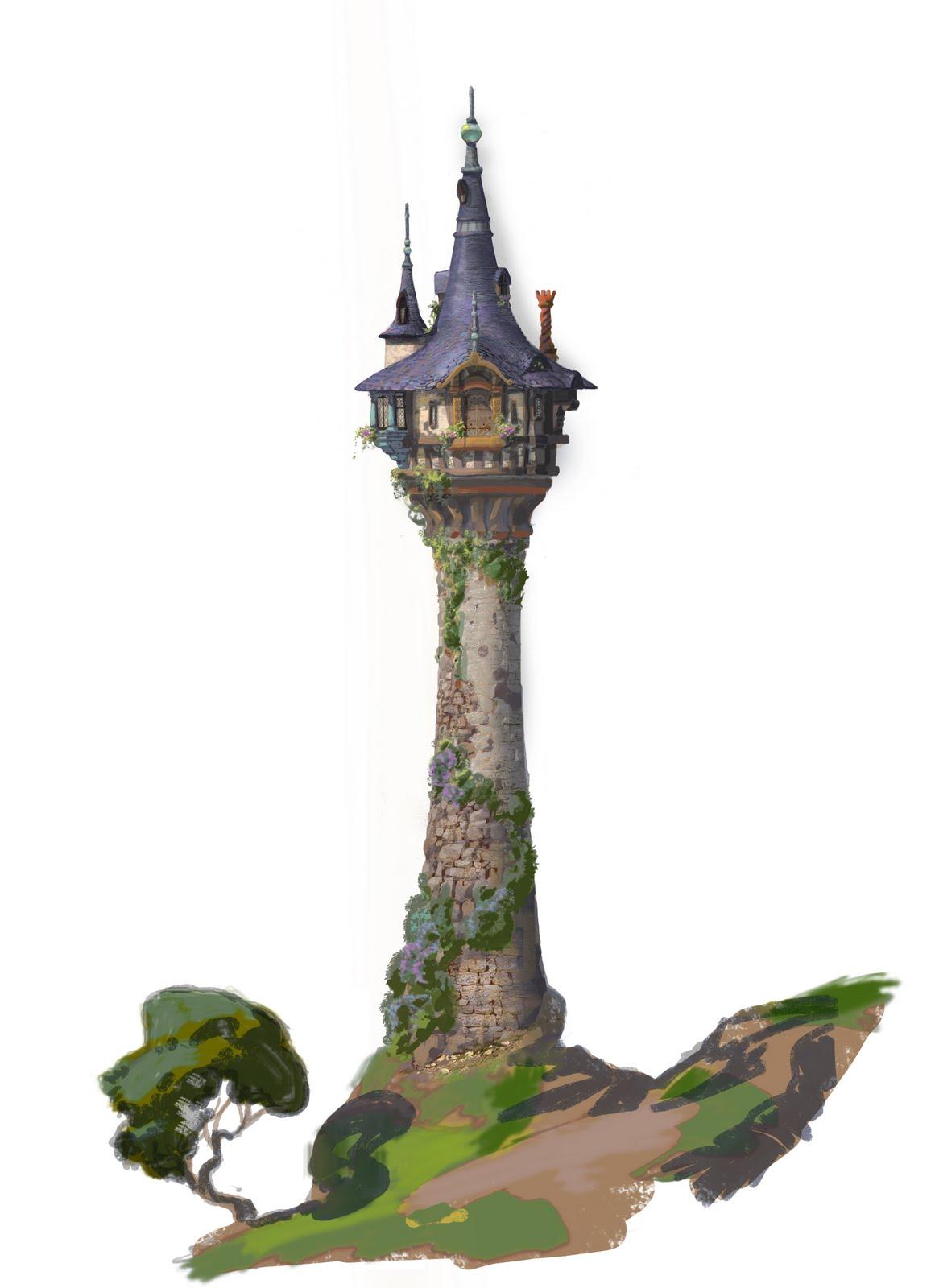"""Empire clipart castle turret Rapunzel's Dan Doug """""""