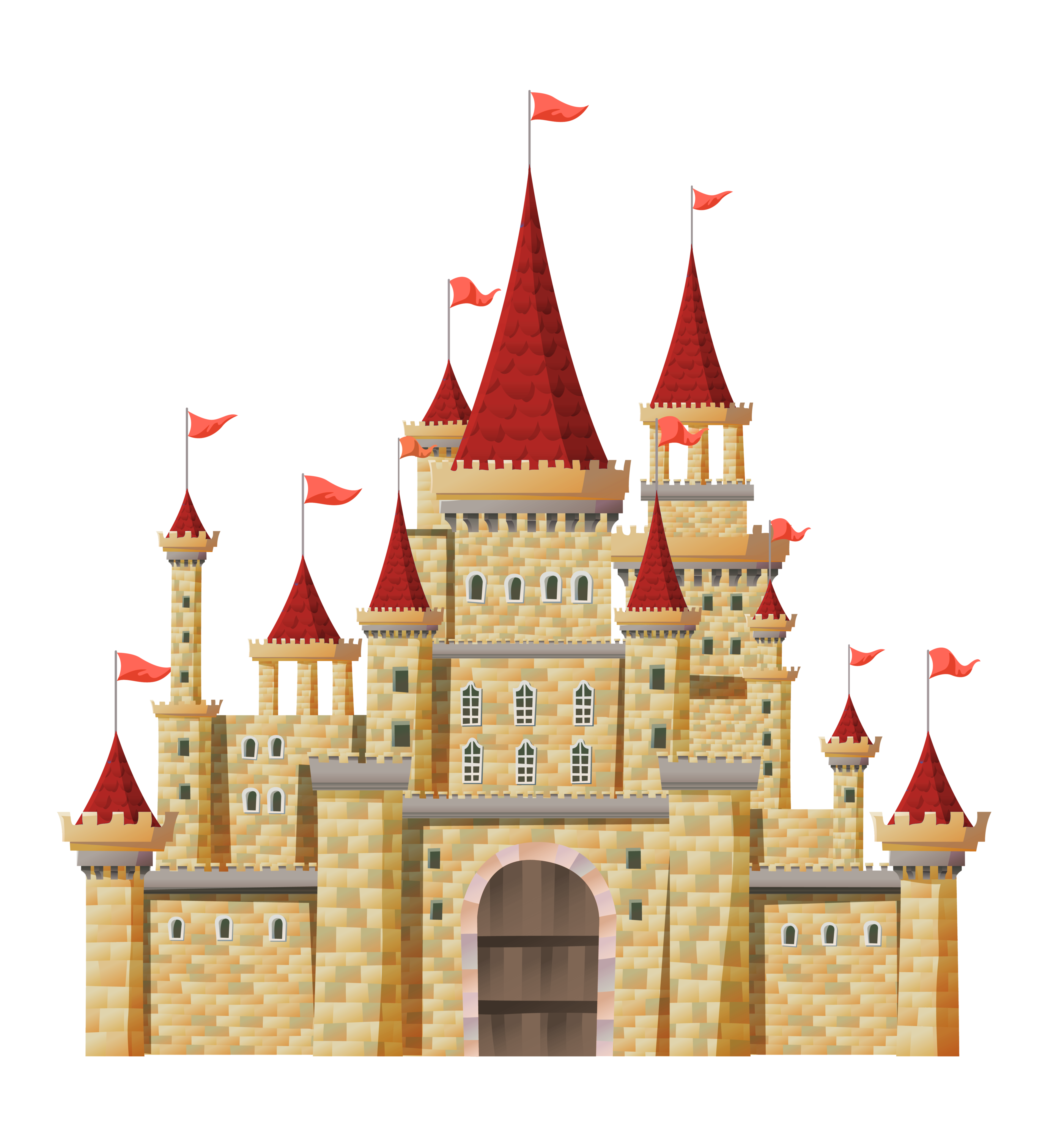 Empire clipart castle turret Clip Art Castle Clip 17