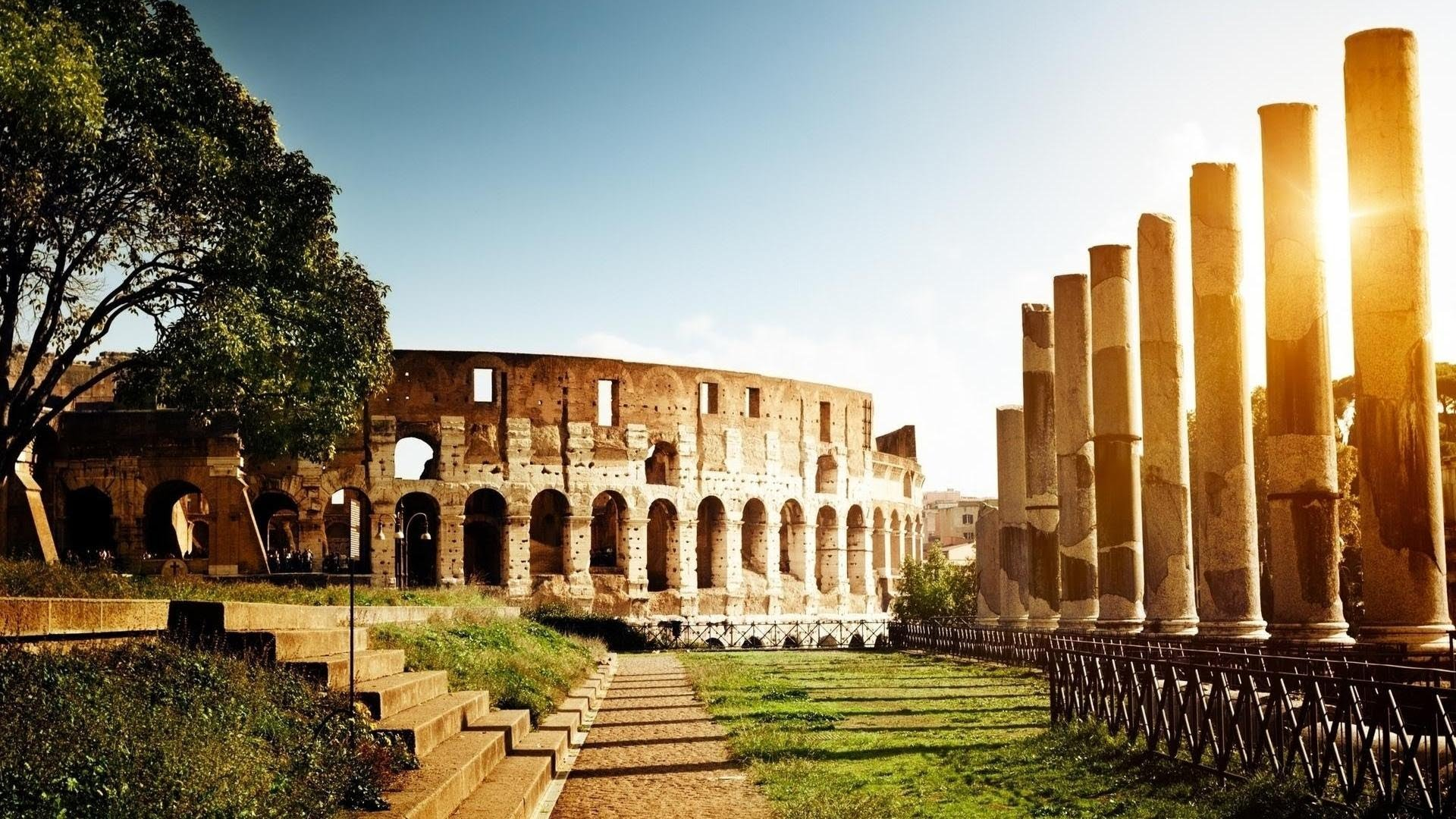 Architecture clipart colosseum Colosseum  Rome The YouTube