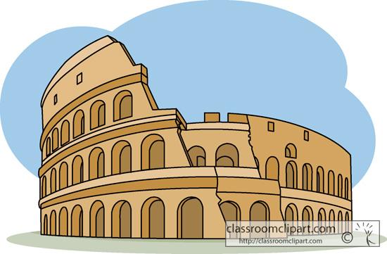 Colosseum clipart cartoon Colosseum Coliseum Rome cliparts Clipart