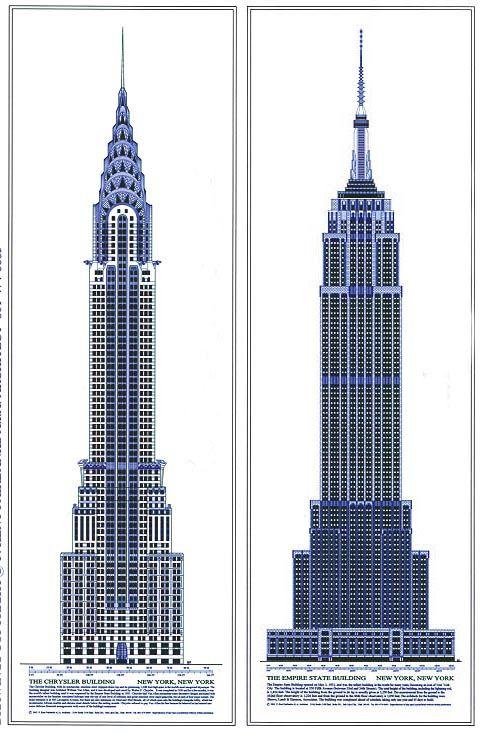 Drawn bulding  tall building FAIRBANKS Pinterest / Chrysler Ideas