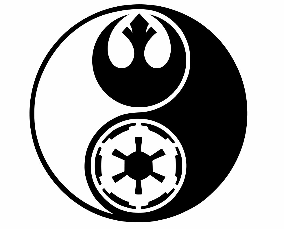 Empire clipart emblem star wars Rebel Etsy decal Yin wars
