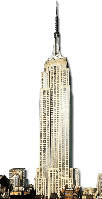 Skyscraper clipart empire state building State Download StickPNG PNG transparent