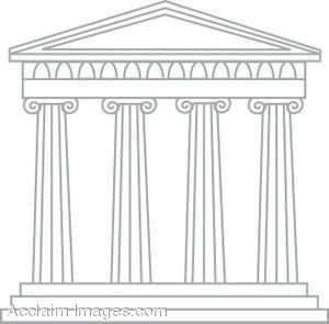 Greece clipart greek column Greek greek greek Art cartoon