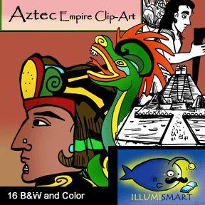 Empire clipart inca B&W images Aztec Art Empire