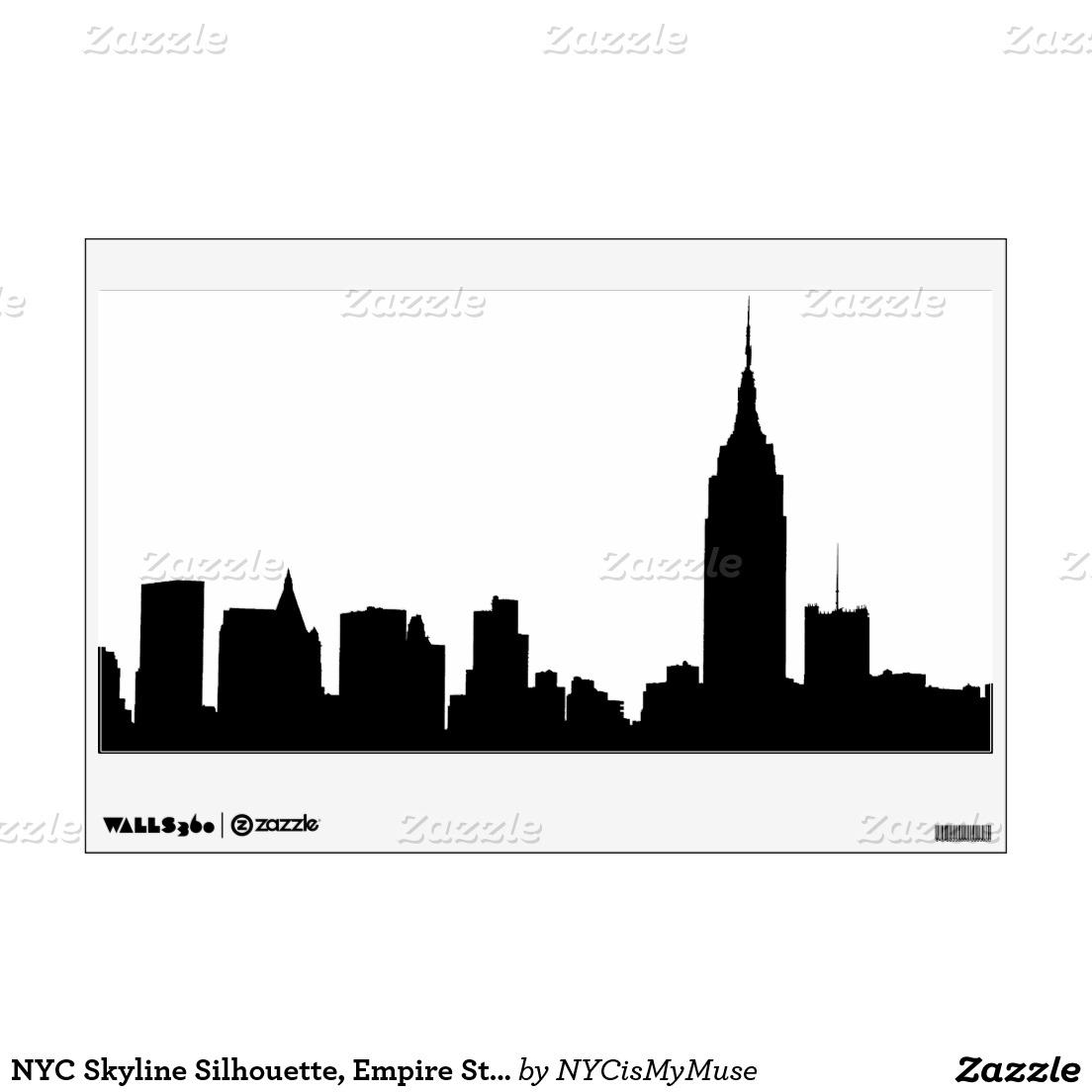 Empire clipart manhattan  Wall Clip Silhouette Free
