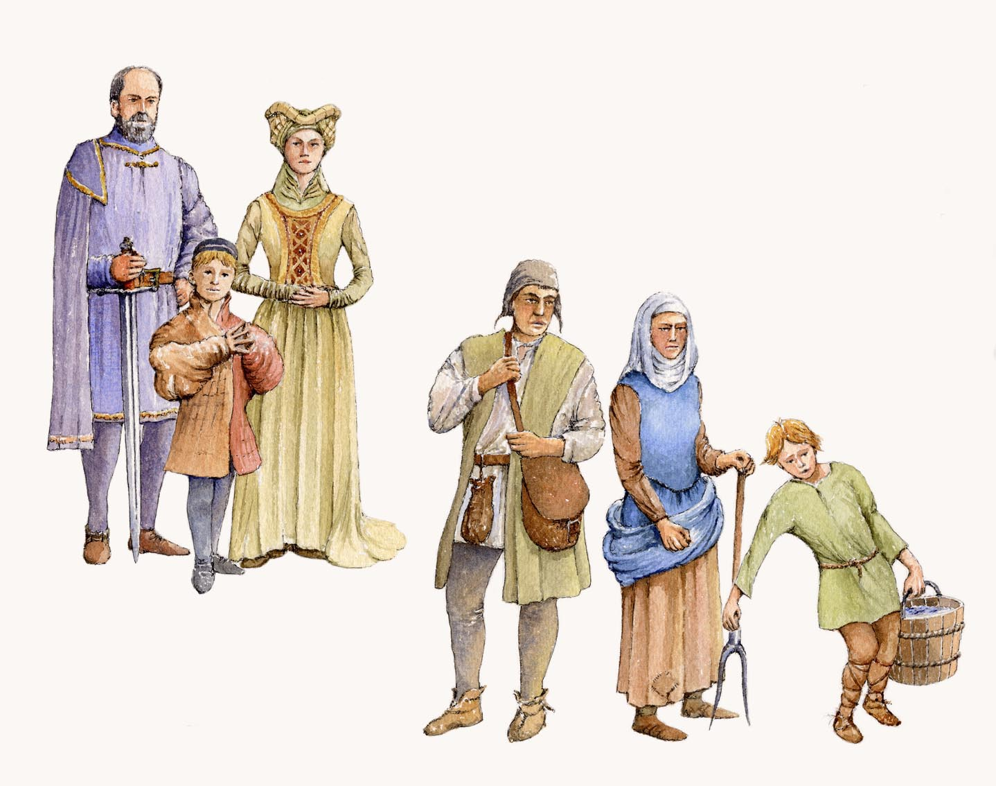 Maiden clipart medieval serf Ages ages zoeken clothing Google