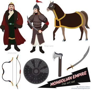 Mongolian clipart Set Empire 27 Pinterest on