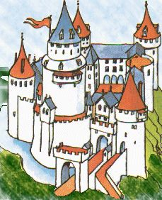 Castle clipart medieval time On Timeline Ages Cathedrals Medieval