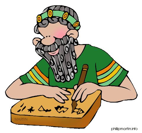 Empire clipart mesopotamia Scribe Free Art by Ancient