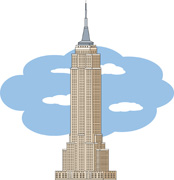 Empire clipart new york building Pictures Art and york Architecture