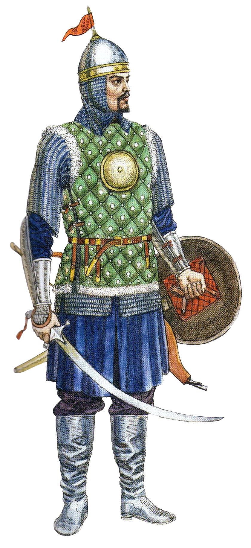 Empire clipart noble Crimean brigandine Crimean in century