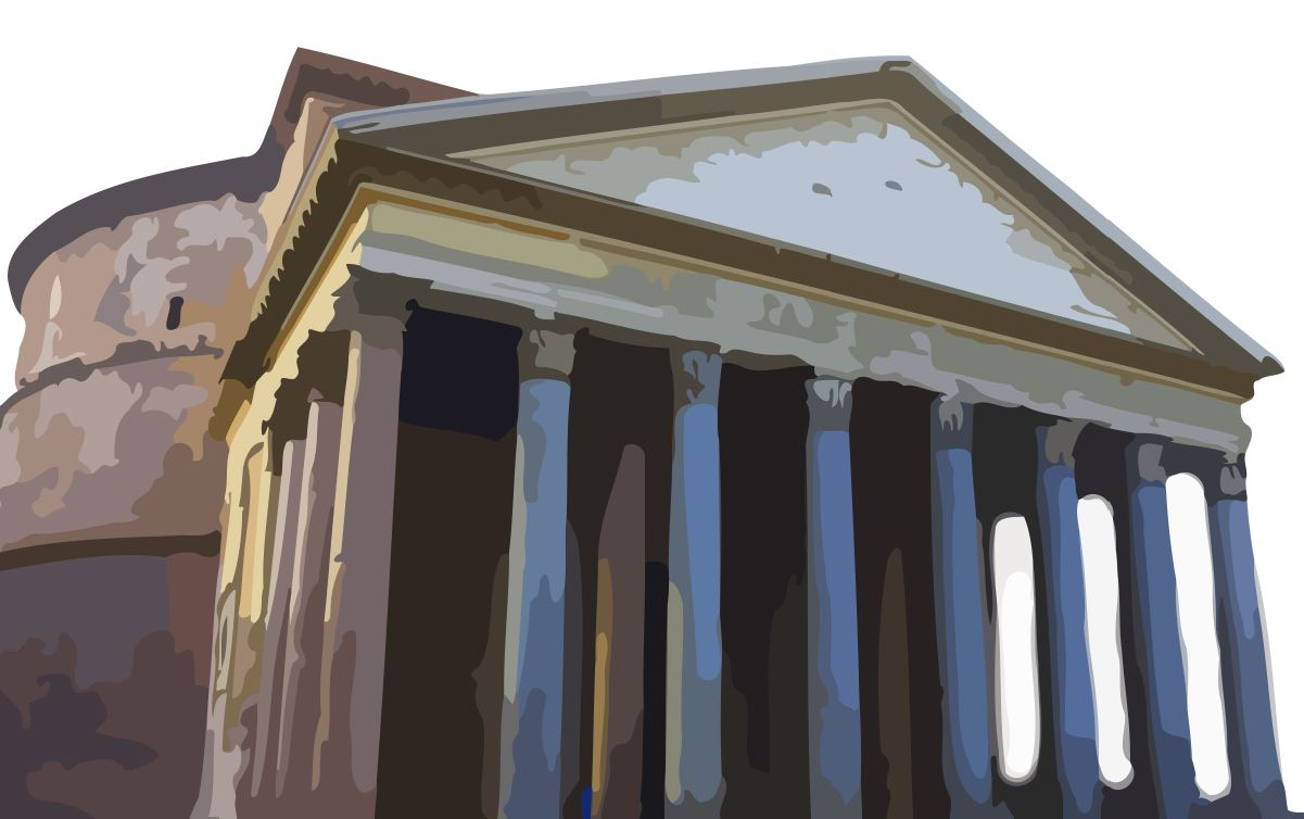 Empire clipart pantheon Com Architecture Clip Pantheon Art
