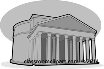 Empire clipart pantheon Pantheon Rome Clipart cliparts