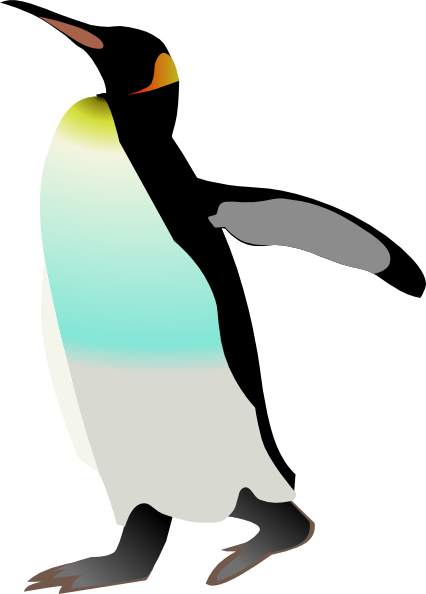 Emperor Penguin clipart This online at vector