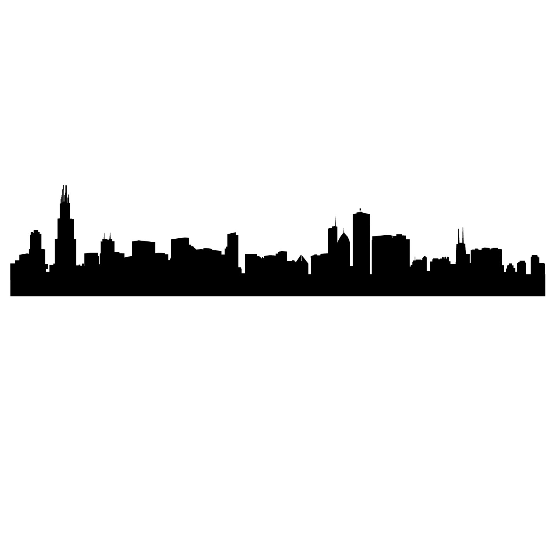 Empire clipart pittsburgh skyline Vinyl Download Chicago Clip Skyline