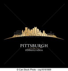 Empire clipart pittsburgh skyline Related Pittsburgh Pittsburgh silhouette pittsburgh