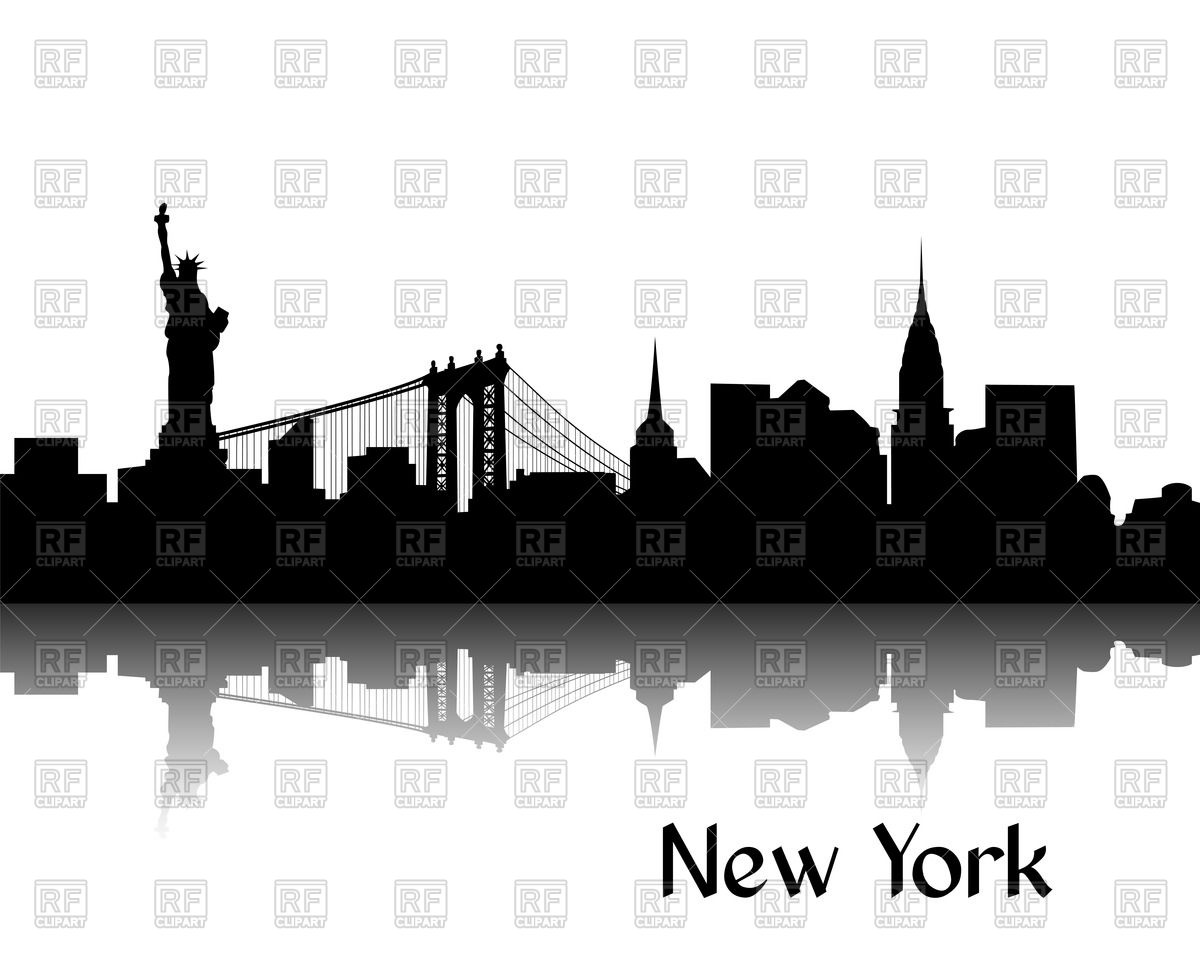 Statue Of Liberty clipart new york city Brooklyn Silhouette this ClipArt more