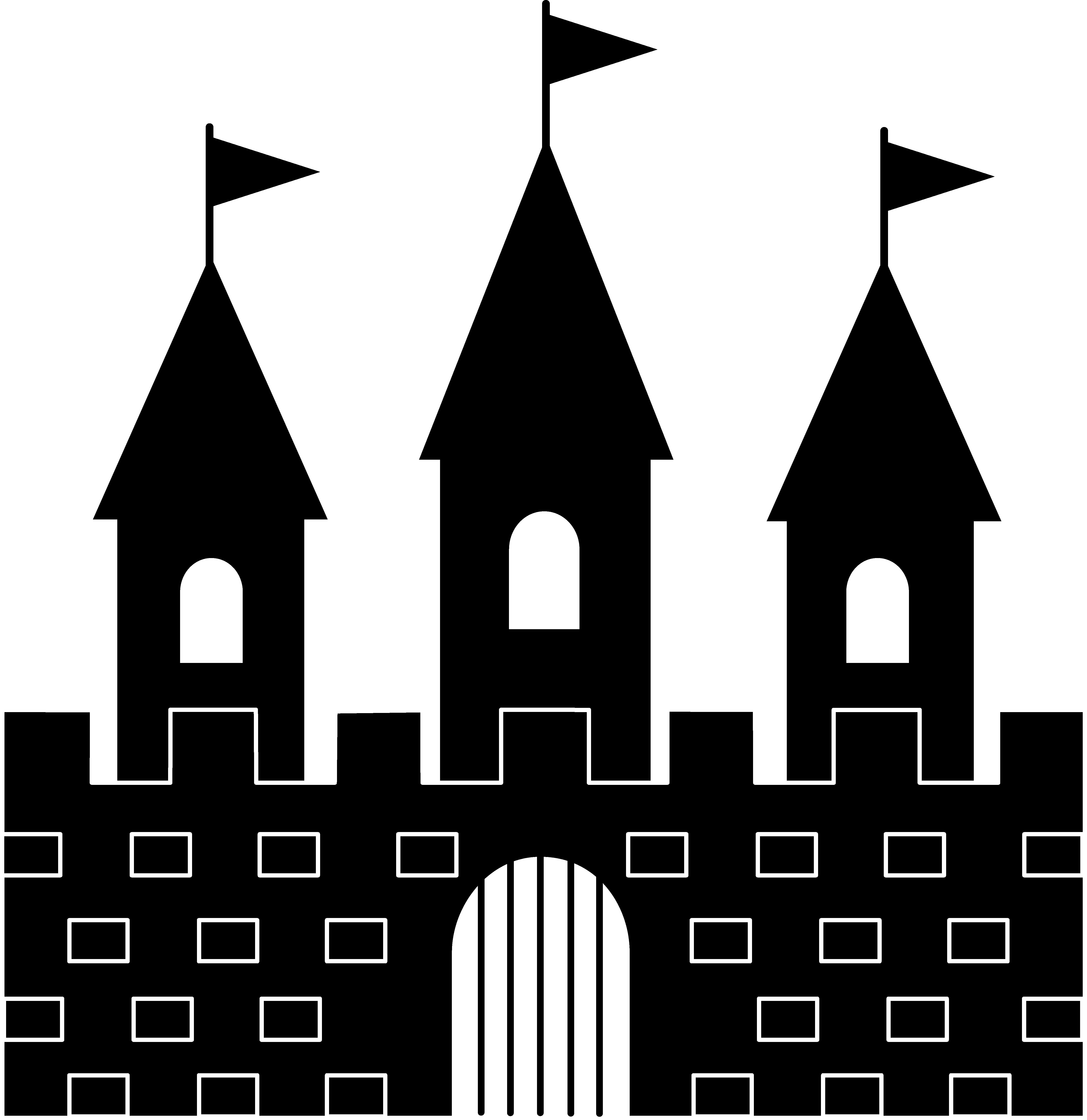 Empire clipart princess tower Art Clip Castle Free Clipart