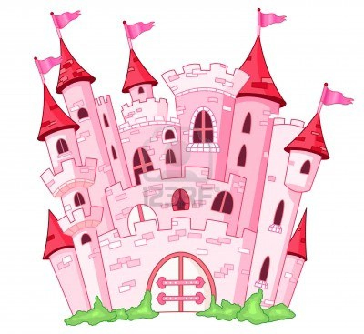 Princess clipart princess castle De  laminas con clipart