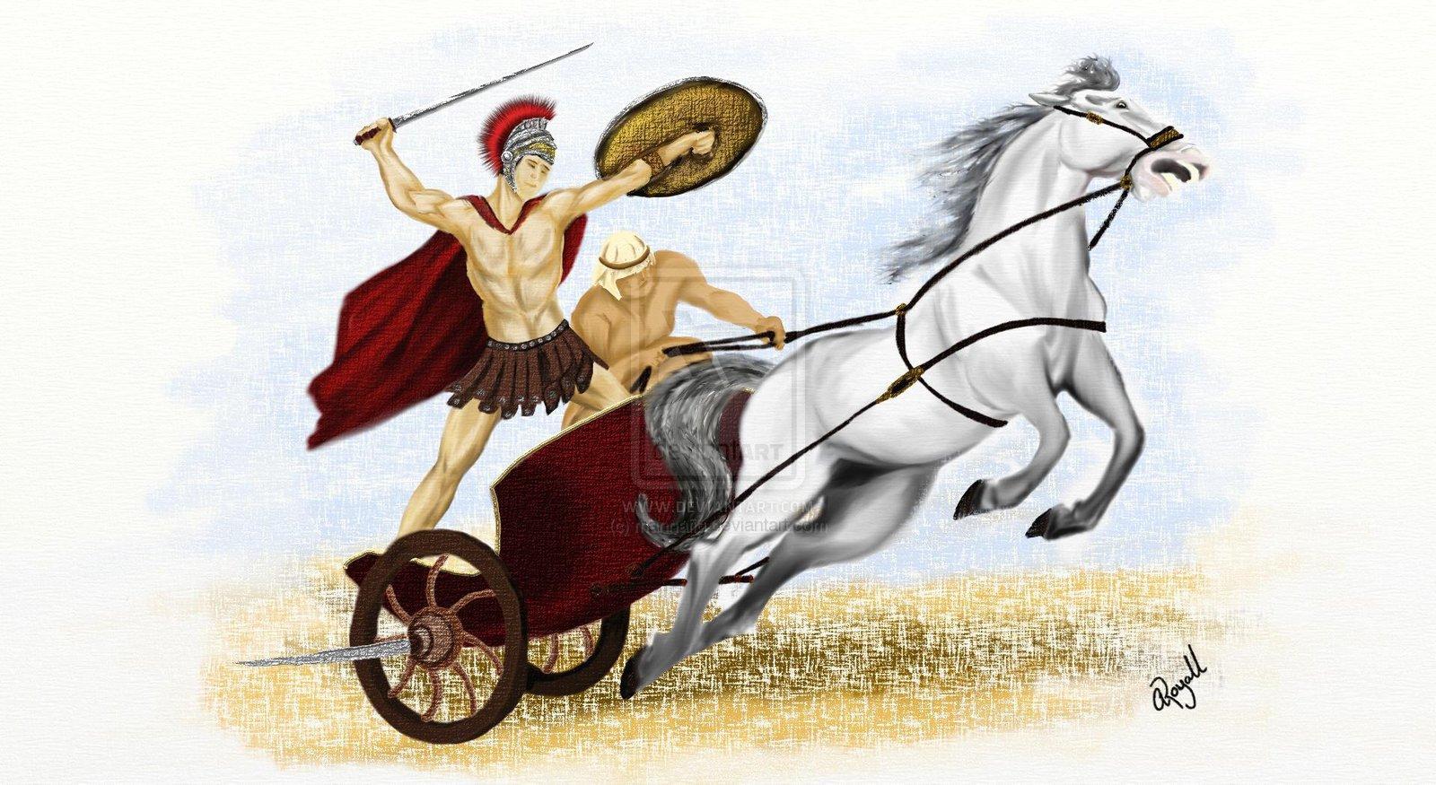 Carriage clipart roman – Roman Roman Chariot Art