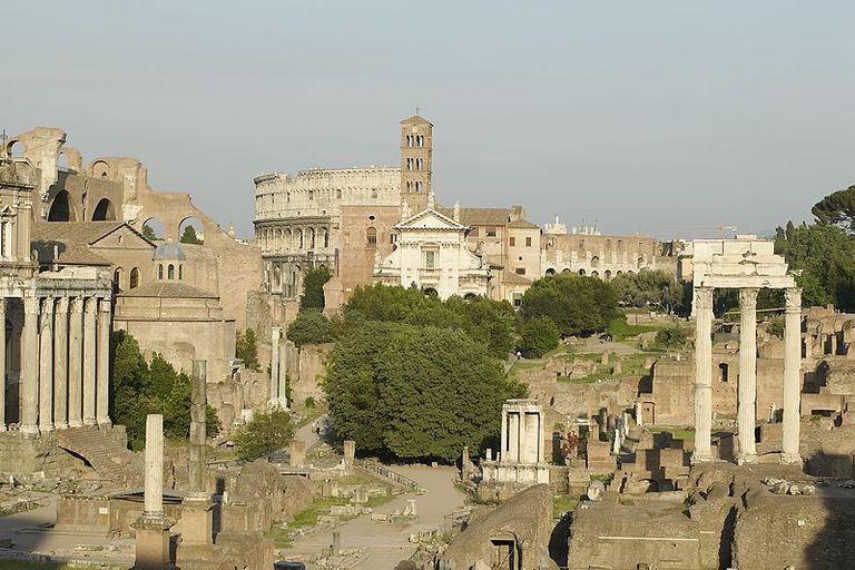 Rome clipart ancient ruin Of Landmarks Ancient Roman Forum