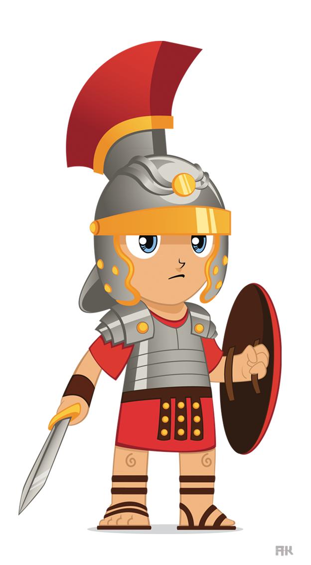 Empire clipart roman gladiator Roman soldier Roman Gladiator and