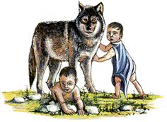 Empire clipart romulus and remus Of How and Rome founded: