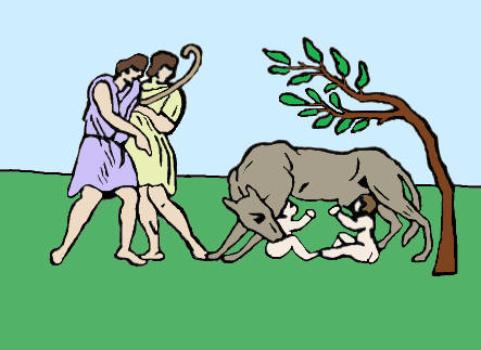 Greece clipart romulus and remus And of wolf The Rome
