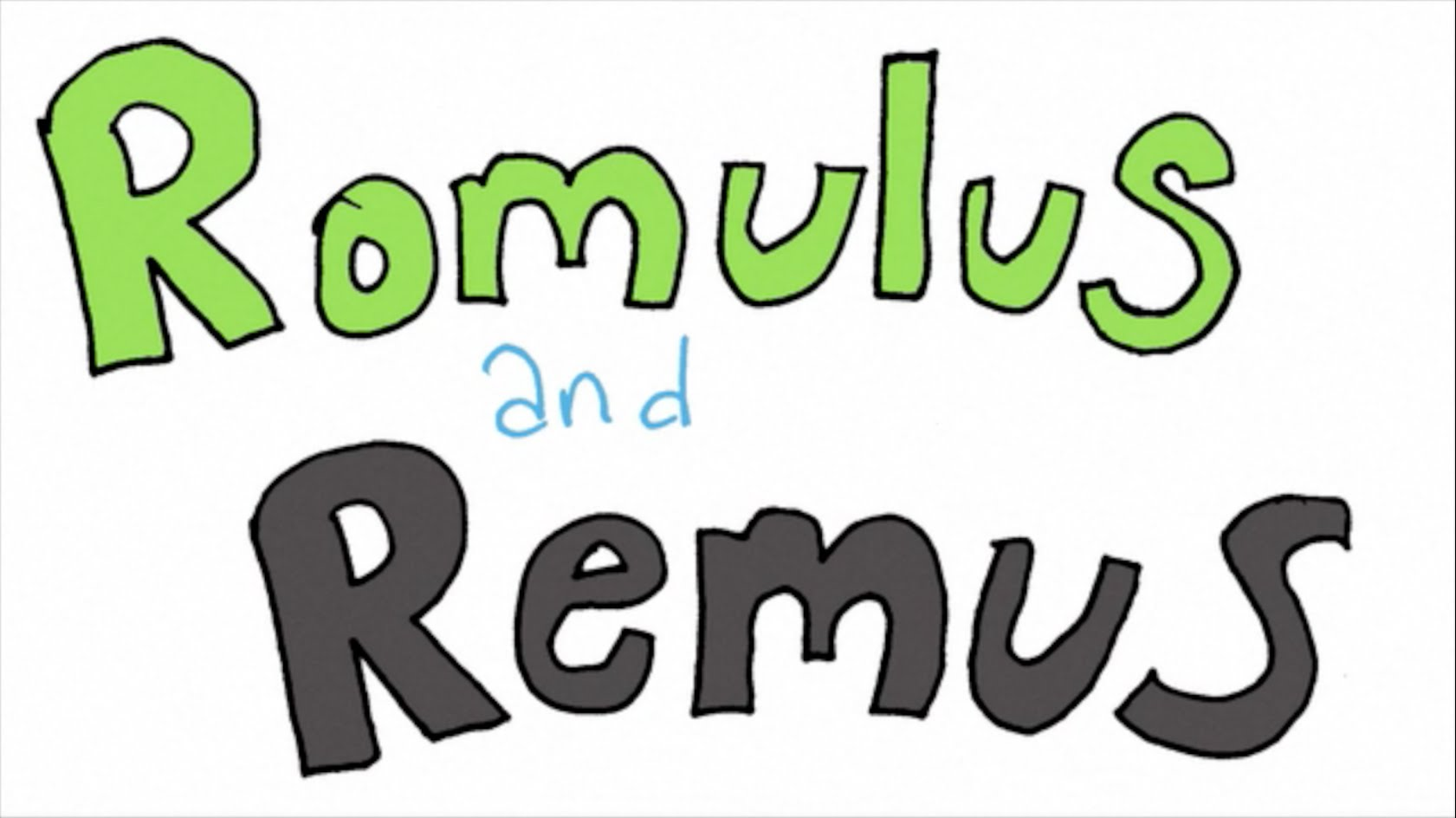Empire clipart romulus and remus Remus Romulus and Remus YouTube
