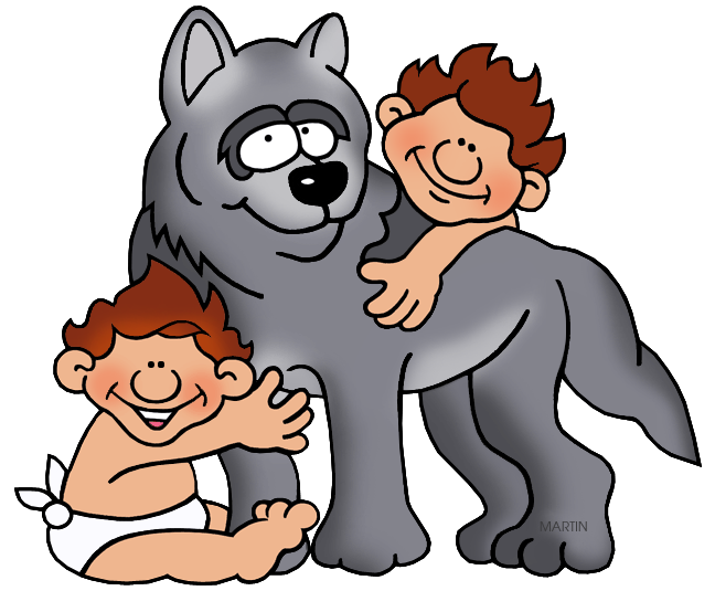 Empire clipart romulus and remus Romulus Rome by Art Clip