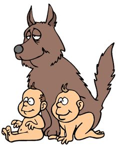 Empire clipart romulus and remus  Illustration Remus Romulus Pinterest