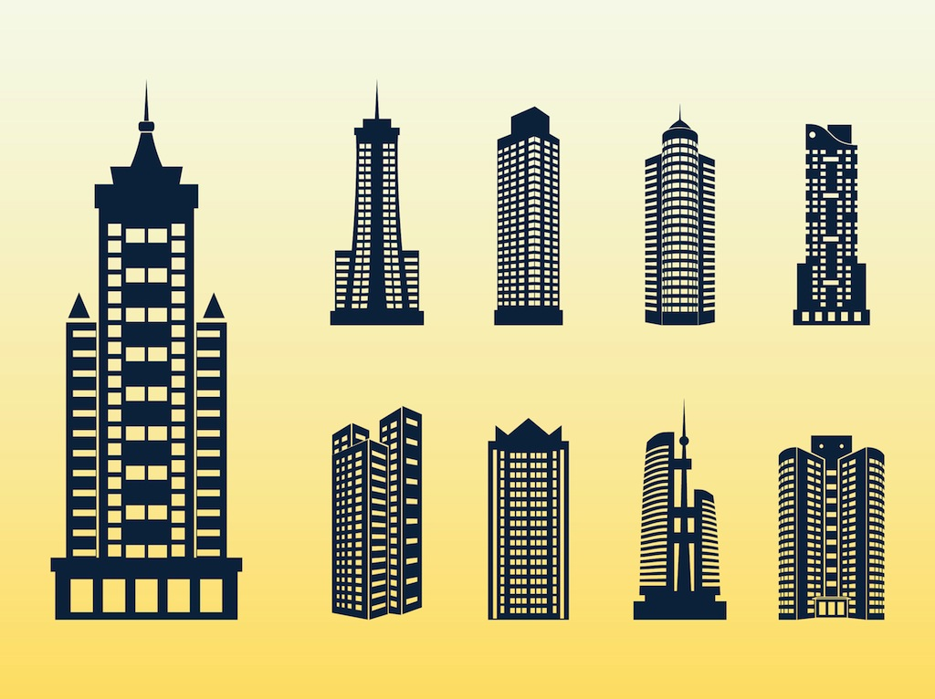 Office clipart tall building Clip Download Building Tall Art