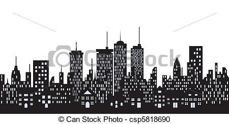 Skyscraper clipart urban Png Silhouette Masteri urbano Tall