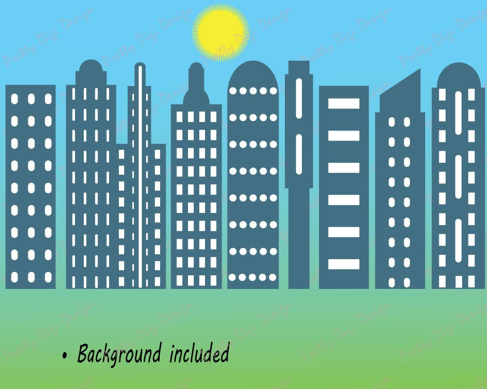 Skyscraper clipart apartment building Apartment clip Skyscrapers art art