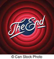 End clipart cartoon 005 Stock Movie clip
