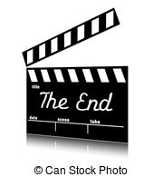 End clipart movie background End art clip cinema of