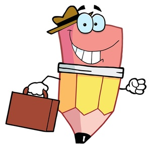 End clipart cartoon Happy his businessman End and