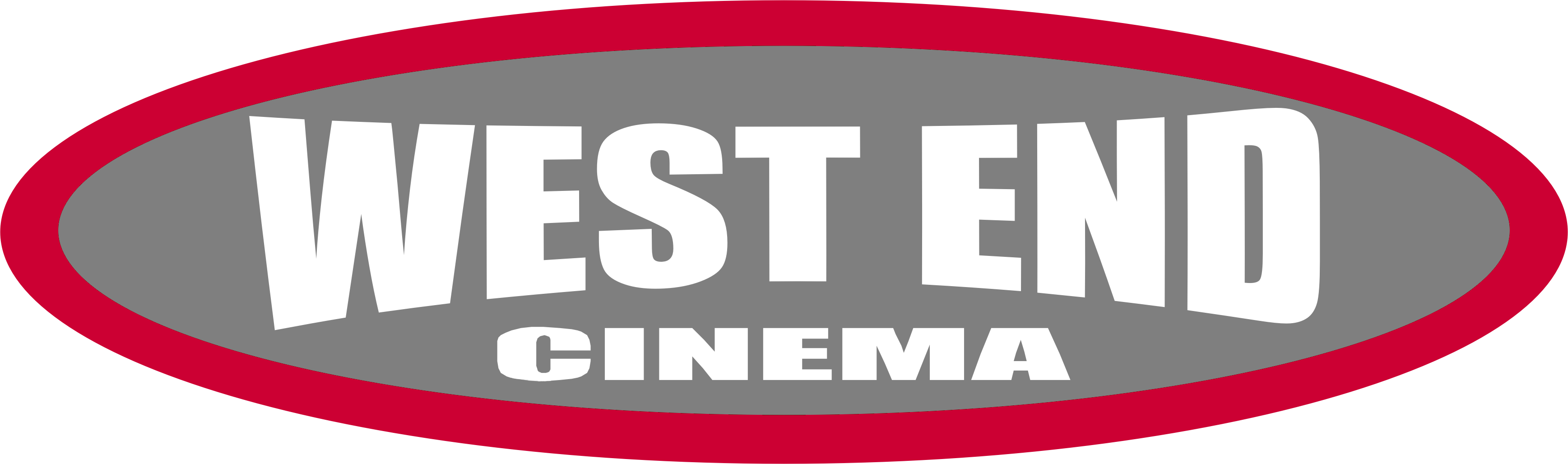 End clipart cinema Cinema West logo End