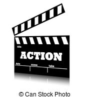 End clipart cinema Clip art cinema action film