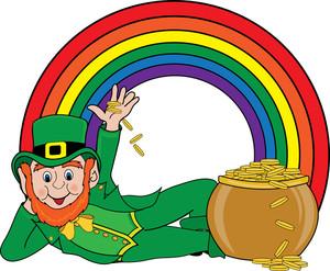 End clipart colorful Leprechaun Free Kids Clipart Free