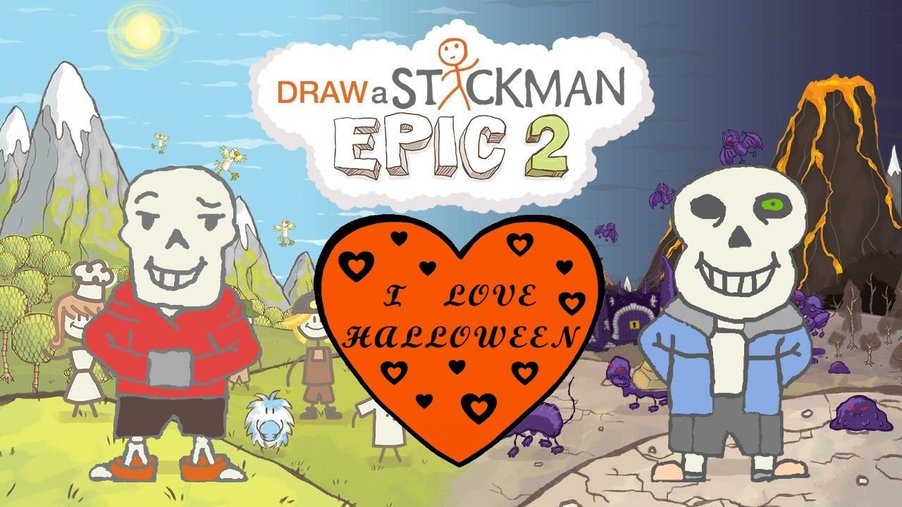 End clipart epic Epic a Sans Papyrus Stickman