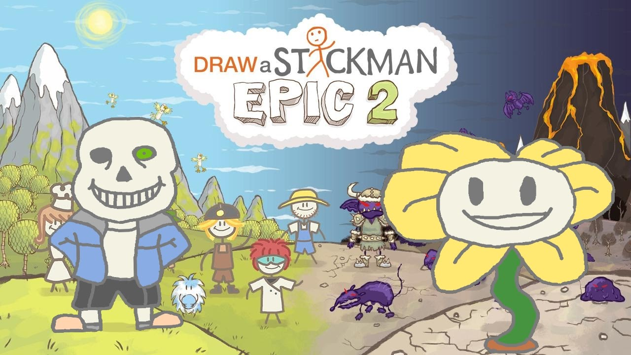 End clipart epic Gameplay End Stickman UNDERTALE Ending