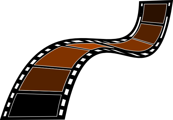 Movie clipart flim Film Cliparts Sephia and Others