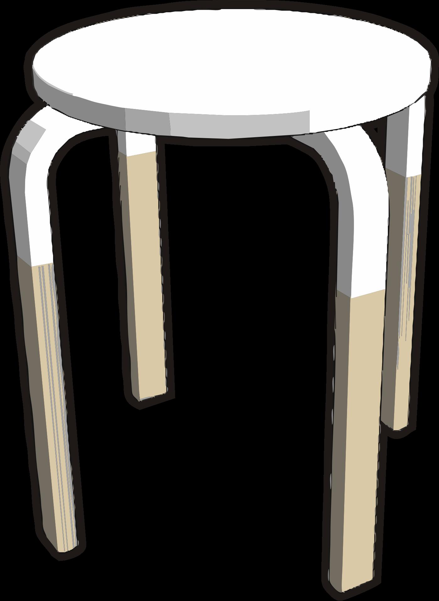 End clipart half Stool Frosta Clipart stool stuff