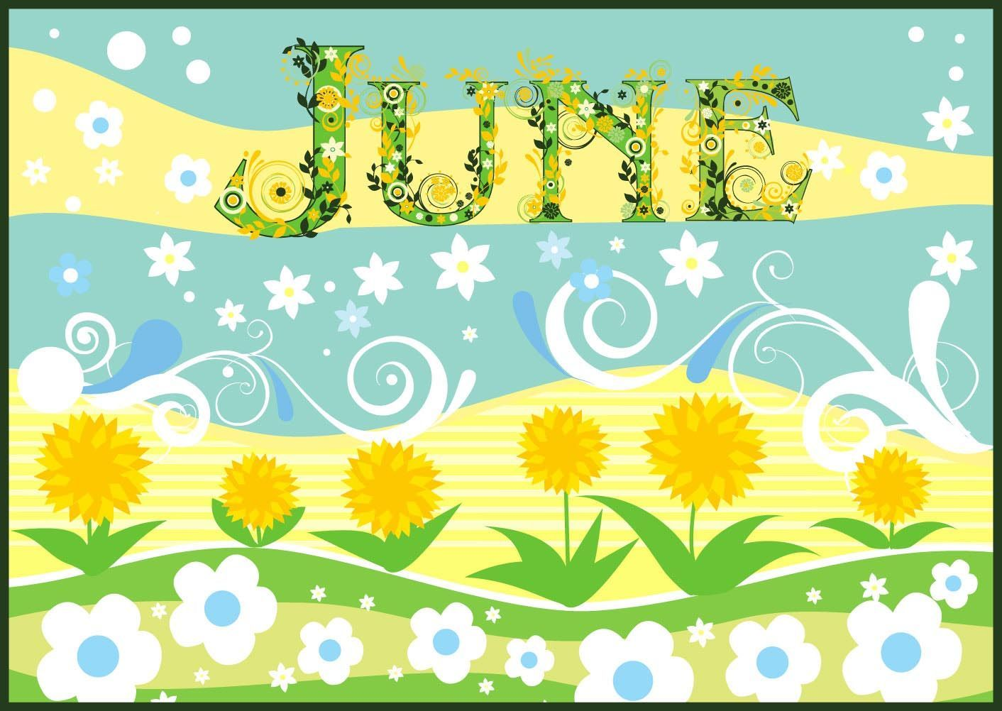 End clipart june flower Month Of About The Facts