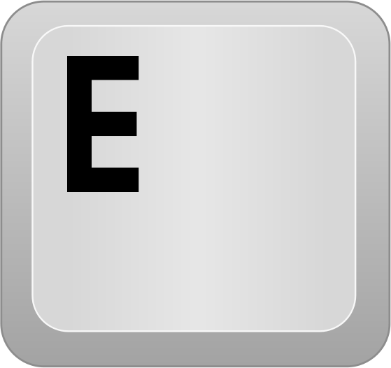 End clipart keyboard key Keyboard Computer Download E Clip